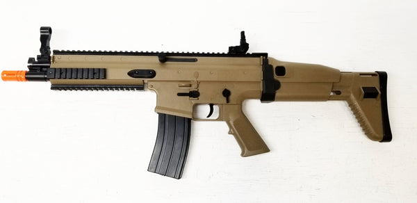 Full Size Plastic Licensed FN Scar Replica Prop Gun, BROKEN Airsoft Gun, For Prop Use Only