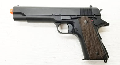 Full Size Full Metal 1911 Replica Prop Gun, BROKEN Airsoft Gun, For Prop Use Only