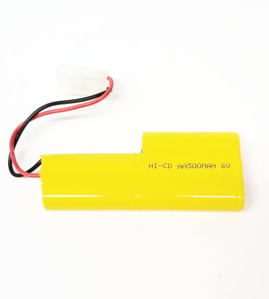 Airsoft / RC Battery Ni-Cd 6V 500 mAh with Large Tamiya connector, Free Shipping!