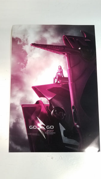 "Power Rangers Go Go 2017 13"" x 20"" Movie Poster"