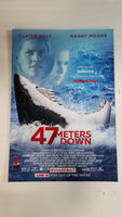 "47 Meters Down 13"" x 20"" Double Sided Movie Poster"