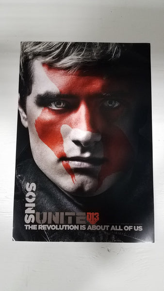 "The Hunger Games Part 2 Sons Unite 13"" x 20"" Movie Poster"