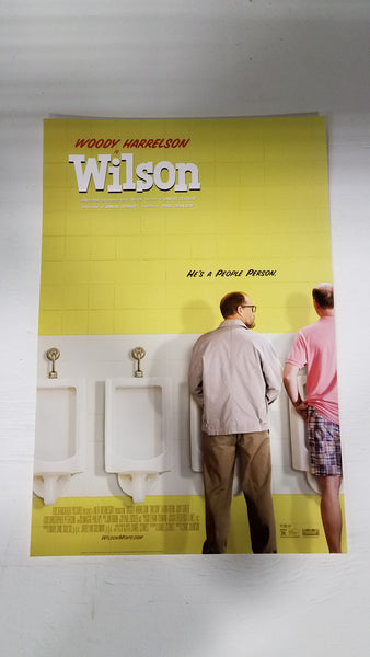 "Wilson 13"" x 20"" With Woody Harrelson  Movie Poster"