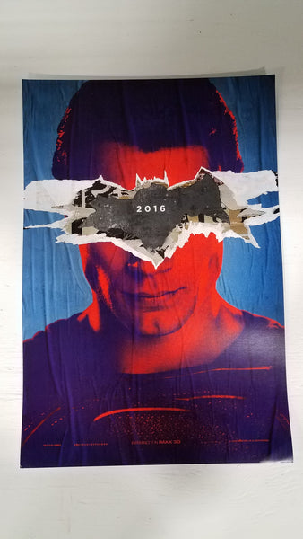 "Batman vs Superman 13"" x 20""  Movie Poster"