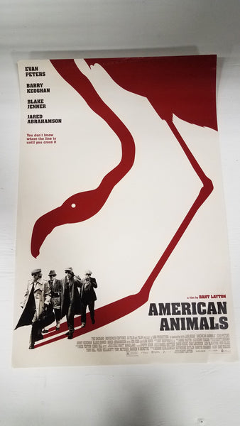 "American Animals 13"" x 20"" Movie Poster"