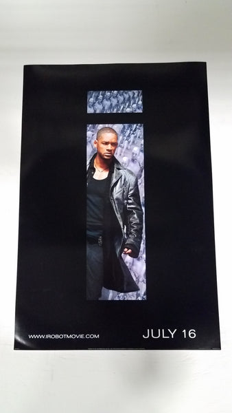 "i Robot 3D 13"" x 20"" Will Smith Movie Poster"
