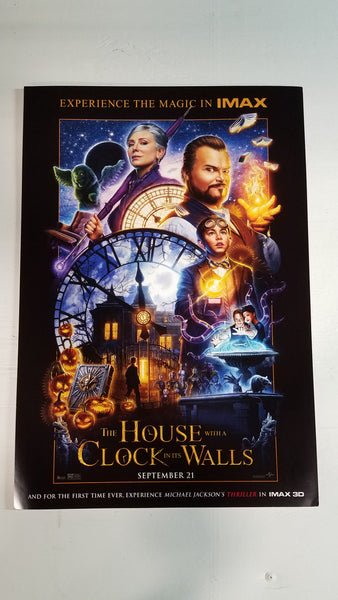 "A House with a Clock in it's Walls 13"" x 20"" Movie Poster"
