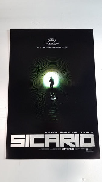 "Sicario 13"" x 20"" Movie Poster"