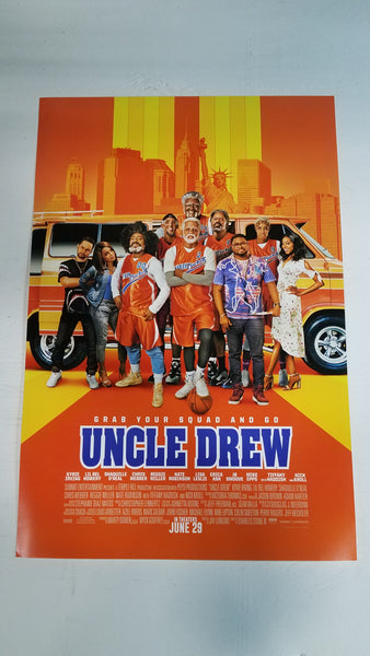 "Uncle Drew 13"" x 20"" Movie Poster"