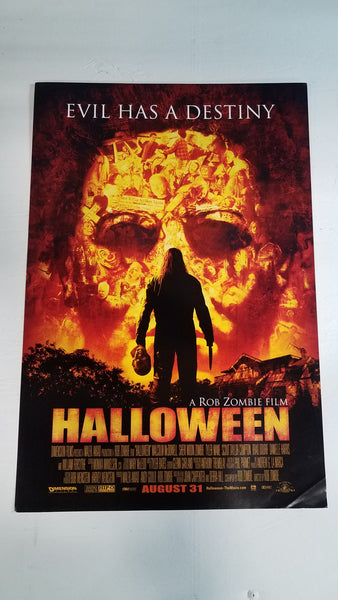 "Halloween 13"" x 20"" Rob Zombie Movie Poster"