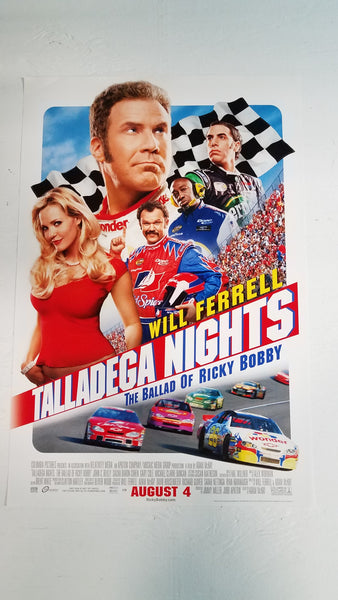 "Talladega Nights 11.5"" x 17"" Movie Poster"