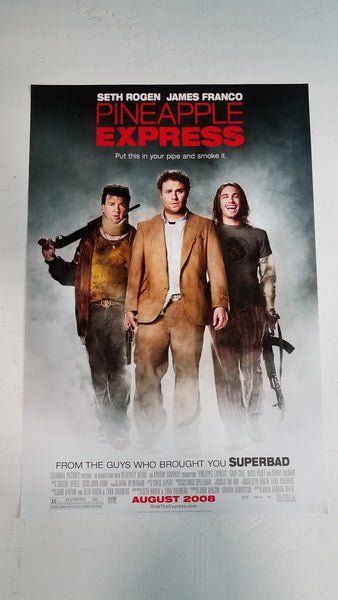 "Pineapple Express 11.5"" x 17"" Movie Poster"