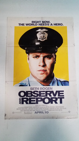 "Observe and Report 11.5"" x 17"" Movie Poster"