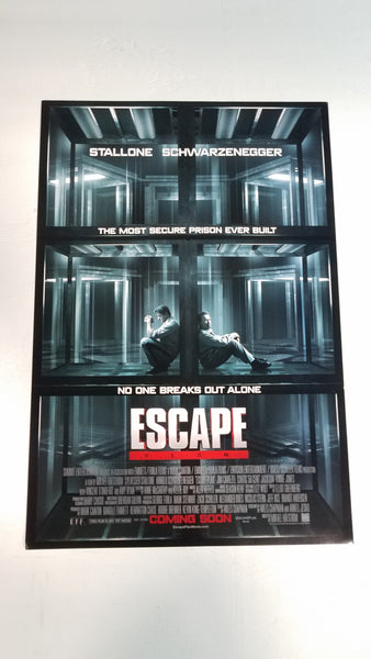 "Escape Plan 11.5"" x 17"" Movie Poster"