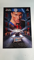 "Street Fighter 11.5"" x 17"" Movie Poster"