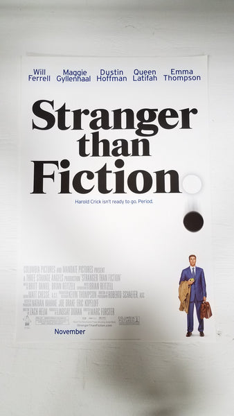 "Stranger than Fiction 11.5"" x 17"" Movie Poster"
