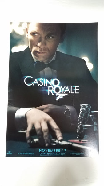 "Casino Royale 11.5"" x 17"" Movie Poster (Style 2)"