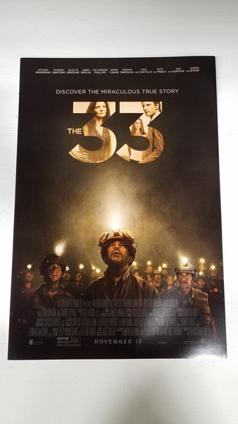 "The 33 11.5"" x 17"" Movie Poster"