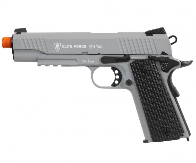 Refurbished Elite Force TAC 1911 Co2 Airsoft Pistol. Grey 2279317