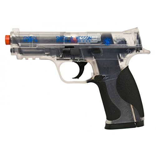 Refurbished Airsoft Smith & Wesson M&P40 CO2 Clear Pistol, Free Ship!