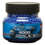Walther Licensed 2000 ct. Airsoft BB's .12g Blue New Free Ship!