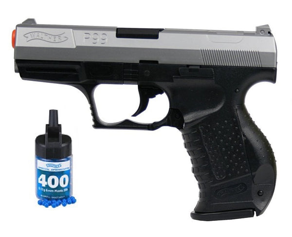 Refurbished Walther P99 Bi-Color Spring Airsoft Pistol w/bbs Free Ship!