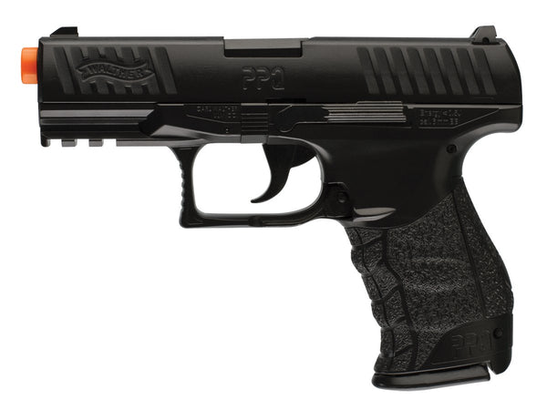 Walther PPQ Prop Pistol Black BROKEN Airsoft Gun Prop Use Only