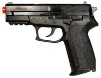 Sig Sauer SP2022 CO2 Airsoft Prop Gun, BROKEN Airsoft Gun, For Prop Use Only, Free Ship!
