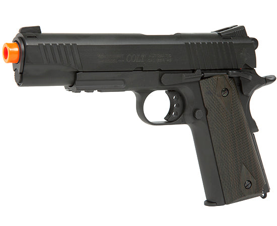 NEW Colt 1911 .45 ACP Co2 Rial Blowback Co2 Airsoft Pistol 180524