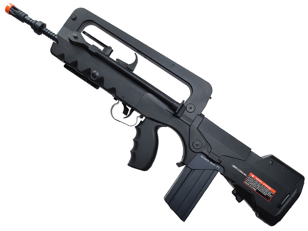 Refurbished Famas Foreign Legion Airsoft AEG Rifle. Black