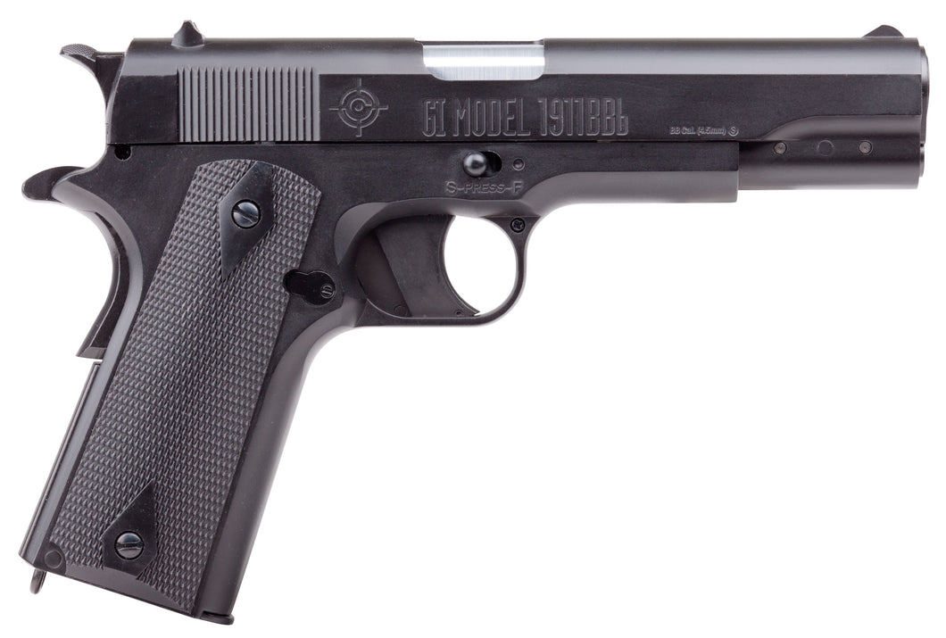 Manufacturer Refurbished Crosman GI Model 1911 4.5mm Airgun Pistol