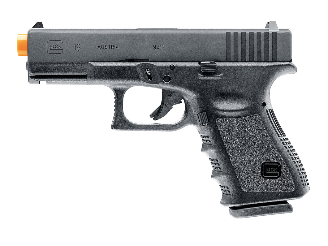 Refurbished Airsoft LICESNED GLOCK G19 Gen3 Gas Blowback Pistol!