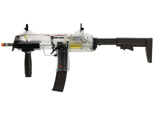 Refurbished HK MP7 Clear Airsoft AEG with Battery, Charger, 400ct .12 bbs