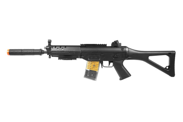 Refurbished M82 SIG 552 Airsoft AEG RIfle with Battyer and Charger.