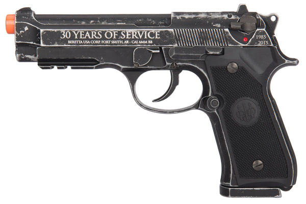 Refurbished Beretta M92 30th Anniversary Co2 Airsoft Pistol. Full Auto, Blowback