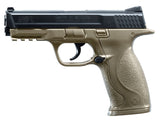 Licensed Smith & Wesson M&P40 PROP Gun, Broken BB Gun, Blk/Tan