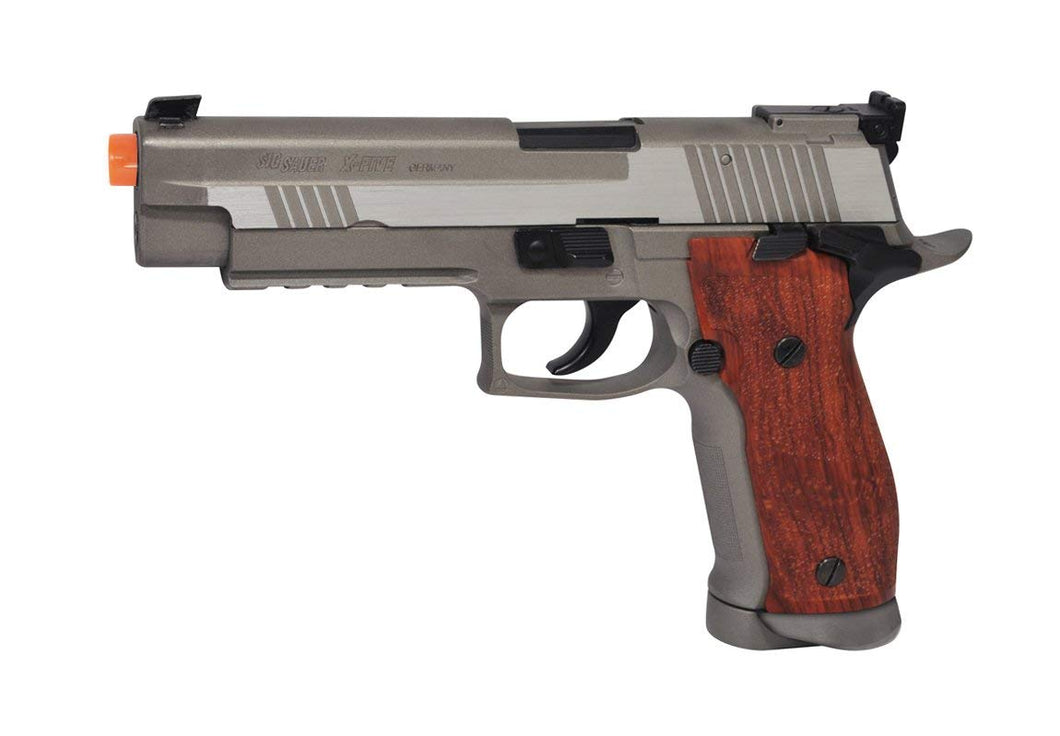 Refurbished Sig Sauer P226 X-Five Co2 Airsoft Pistol. Full Metal, Blowback. Silver