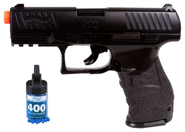 Refurbished Airsoft Walther PPQ Spring Pistol Kit w/ 400 BBs