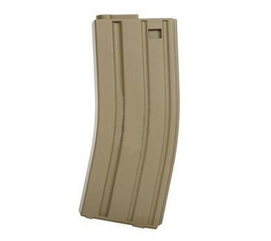 Airsoft M4/M16 Tan 140 Round Mid Cap Magazine, Free Ship!