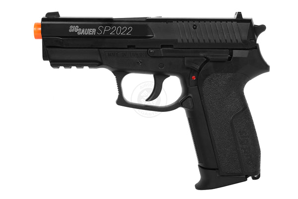 Refurbished Sig Sauer SP2022 Co2 Airsoft Pistol. Black