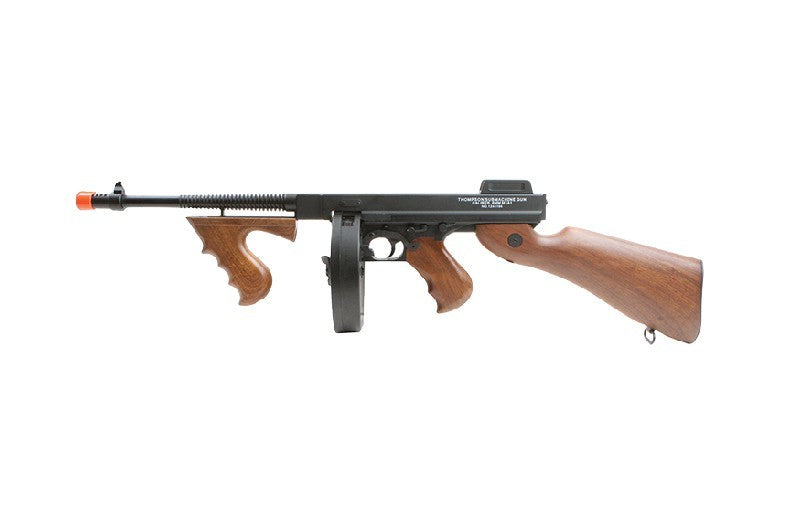 Refurbished Thompson Model 1928 Chicago Typewriter Airsoft AEG. Full Metal