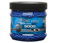 Walther Licensed 5000 ct. Airsoft BB's .12g Blue