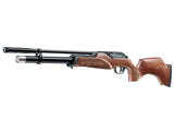 Manufacturer Refurbished .25 Caliber Maximathor PCP Air Gun Rifle. Wood Stock