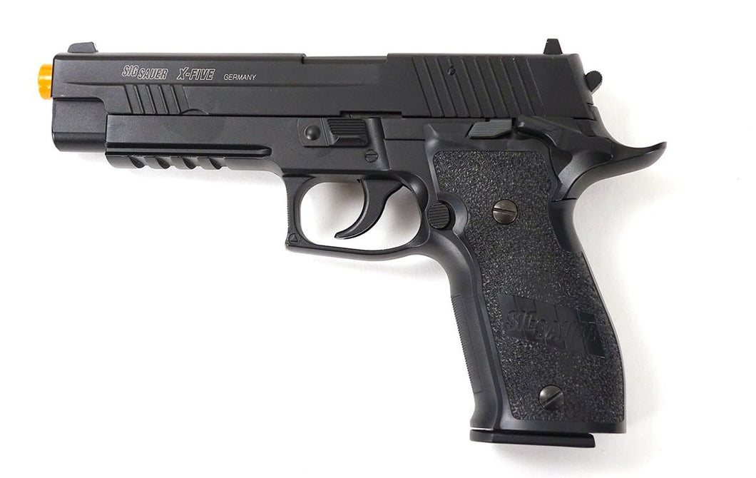 Refurbished Sig Sauer X-Five P226 Co2 Airsoft Pistol. Full Metal, Blowback
