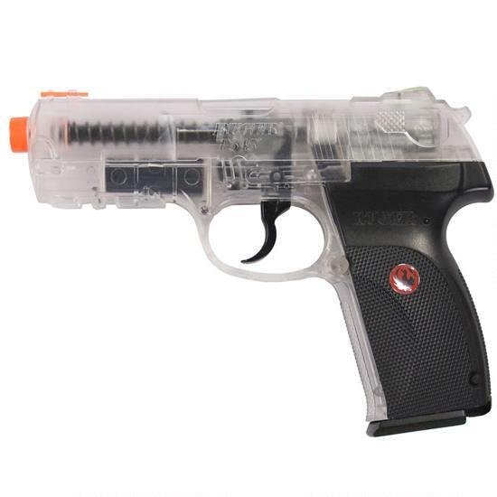 NEW Airsoft Ruger P345 Clear CO2 Airsoft Pistol, Free Shipping!
