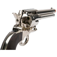 Legends Smokewagon Metal Revolver Prop Gun, BROKEN CO2 AIRSOFT Gun, For Prop Use Only