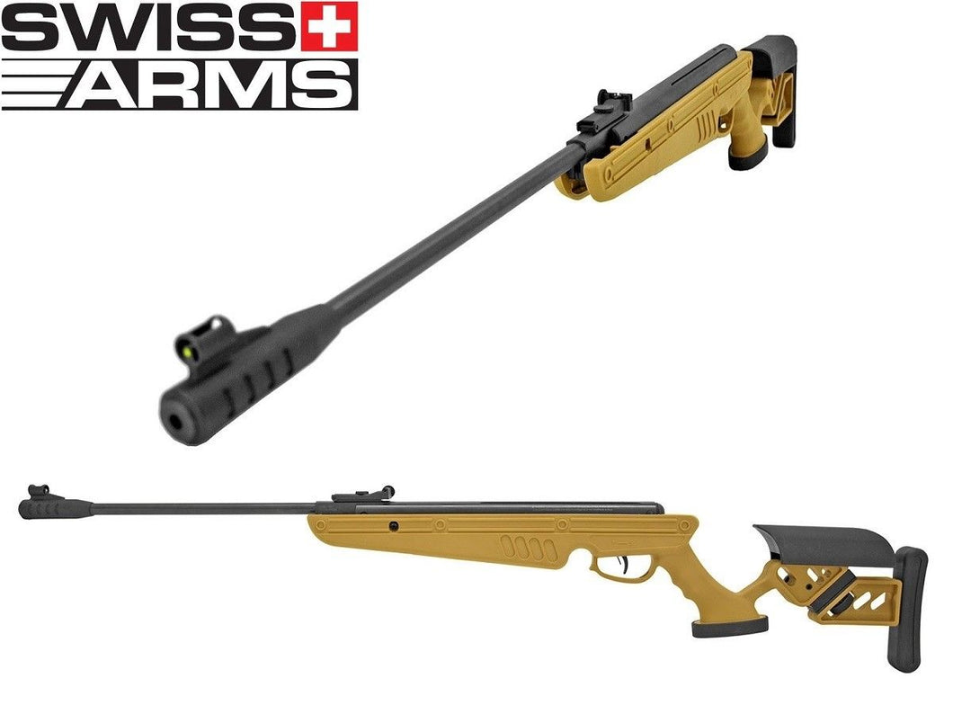 Refurbished Swiss Arms TG-1 .177 Caliber Break Barrel Air Rifle Free Ship!
