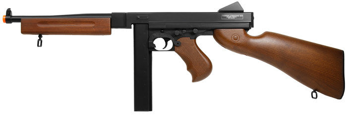 Refurbished Thompson M1A1 Airsoft AEG Rifle. Battery and Charger. 43904