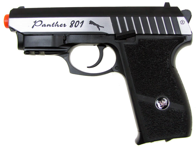 Refurbished WG Panther 801 Co2 Airsoft Pistol. Full Metal Blowback