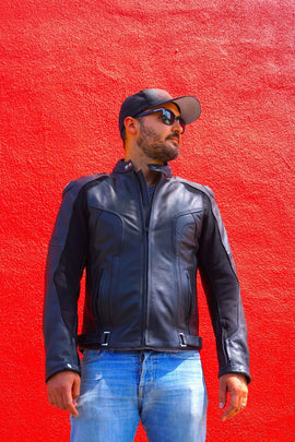 Hollywood Electrics Leather Motorcycle Jacket